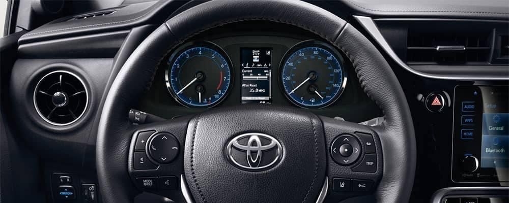 2019 Toyota Corolla Interior Steering Wheel and Dashboard