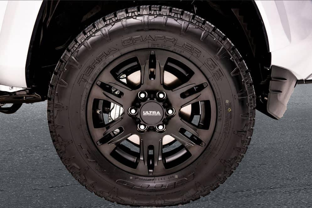 Toyota Tacoma XP wheel Black Maverick edition