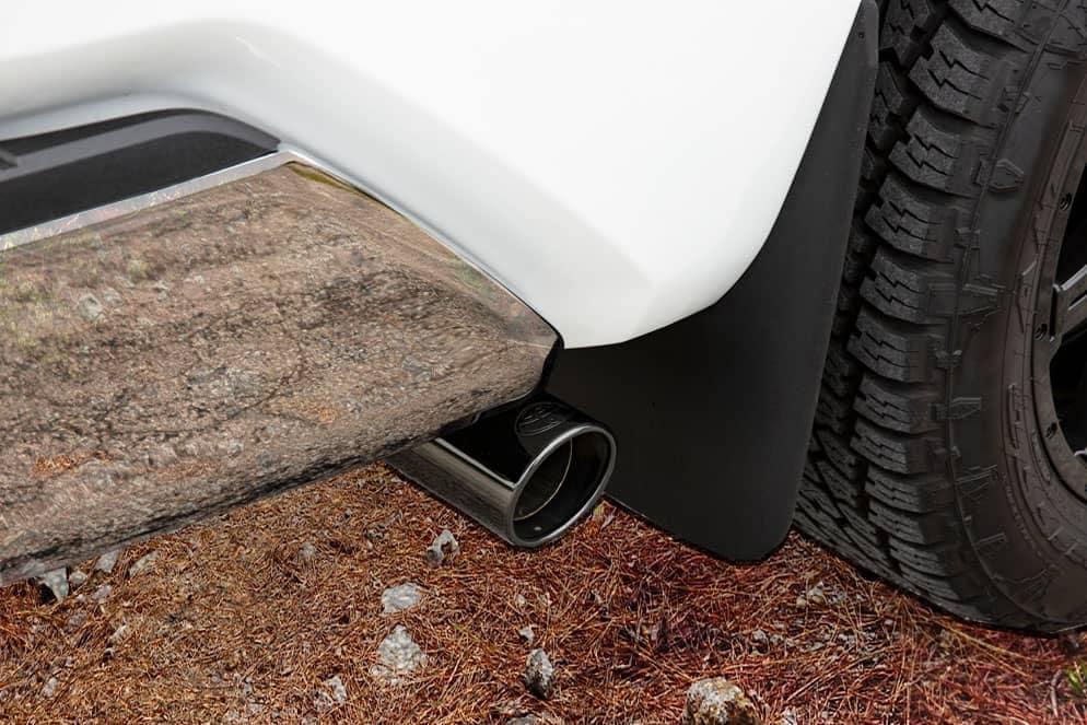 Toyota Tundra XP Gunner Exhaust chrome