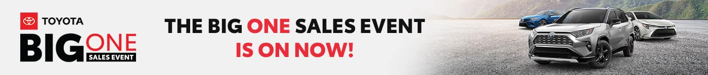 Big One Sales Event