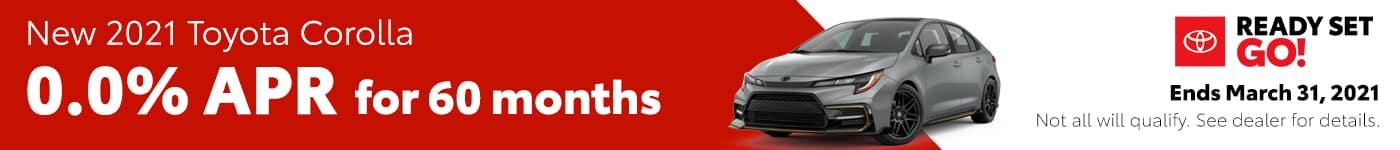 New 2021 Toyota Corolla