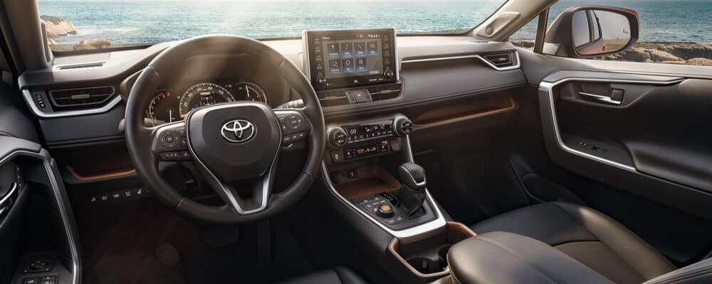 2021 Toyota Rav4 Interior dashboard
