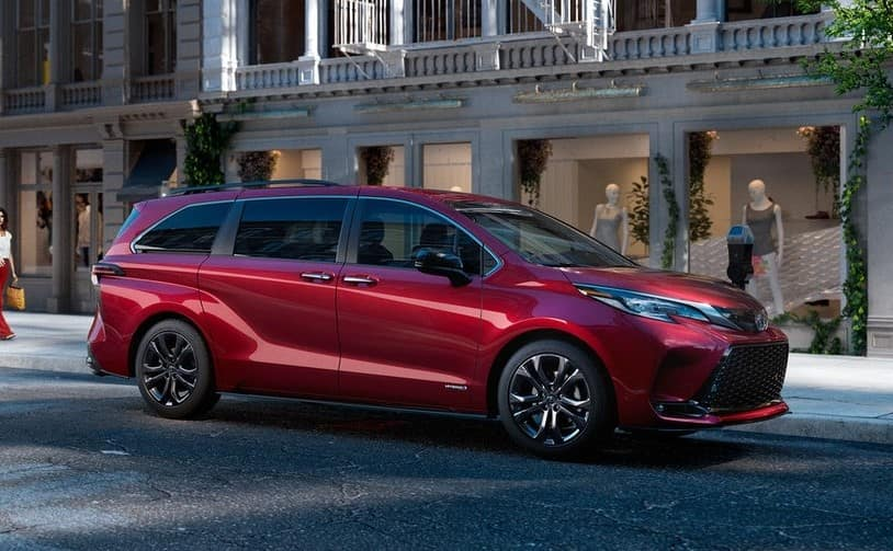 New 2021 Toyota Sienna 0.9% APR for 48 months