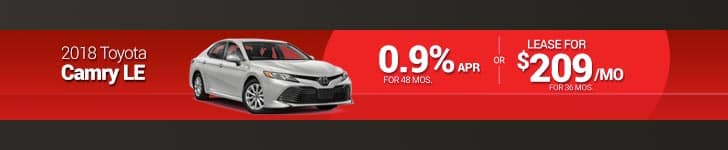 August Camry Special
