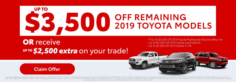 Matick Toyota 2019 Push
