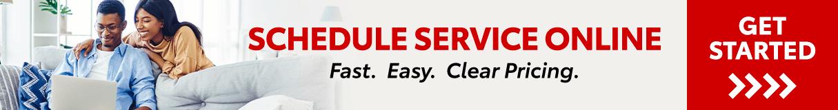 Schedule Service Online