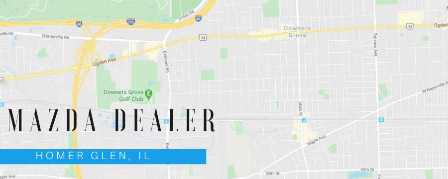 Mazda of Orland Park serves Homer Glen, IL