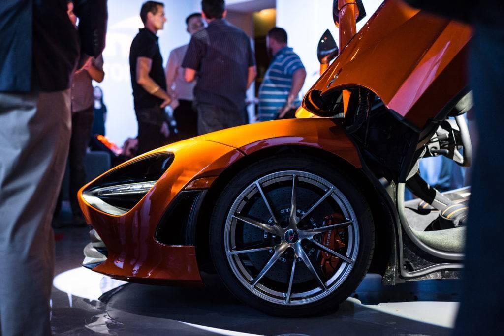 S Comes To Houston For Private Reveal McLaren Houston - Exotic car show houston