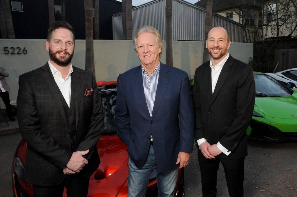 From left- David Bohn, Ken Enders and Derek Brown