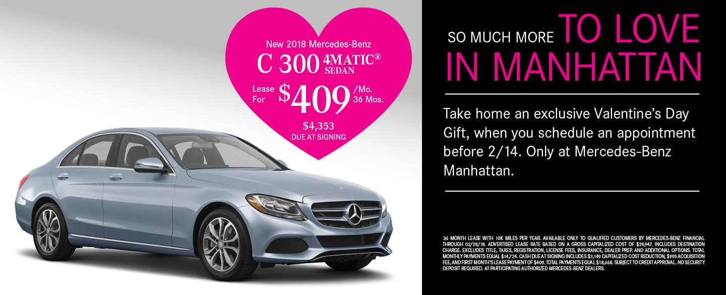 Mercedes benz manhattan in new york ny new used cars for Mercedes benz cpo warranty coverage