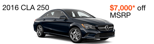 2016 CLA 250 $7,000 off MSRP--enable images to see more