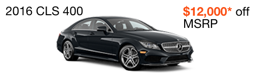 2016 CLS 400 $12,000 off MSRP--enable images to see more