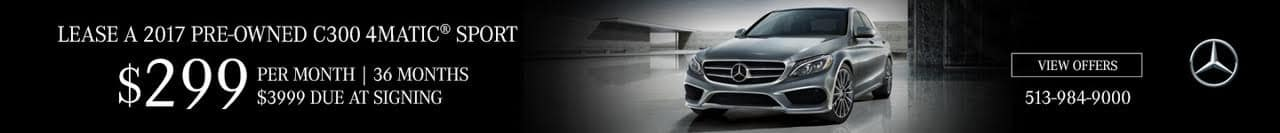 2017 Pre-Owned C300 4MATIC Sport