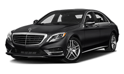 Mercedes-Benz Black S-Class Model