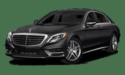 Mercedes-Benz Black S-Class Model