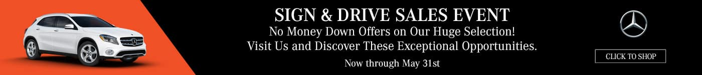 Sign & Drive Sales Event
