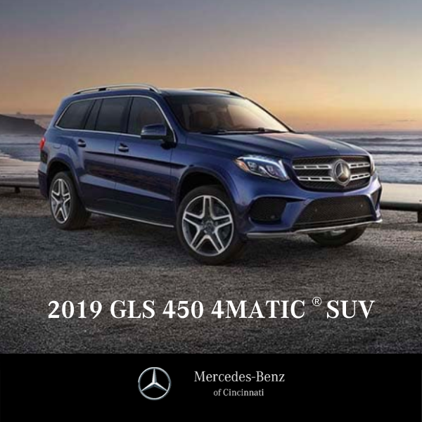 Lease a New 2019 GLS450 4MATIC®