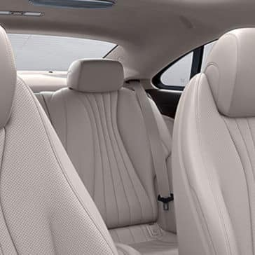 2018 MB E-Class Seating