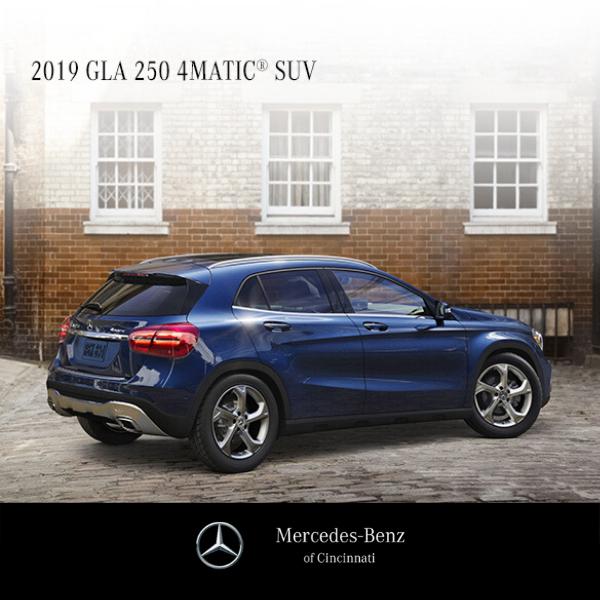 Lease a 2019 GLA 250 4MATIC® SUV