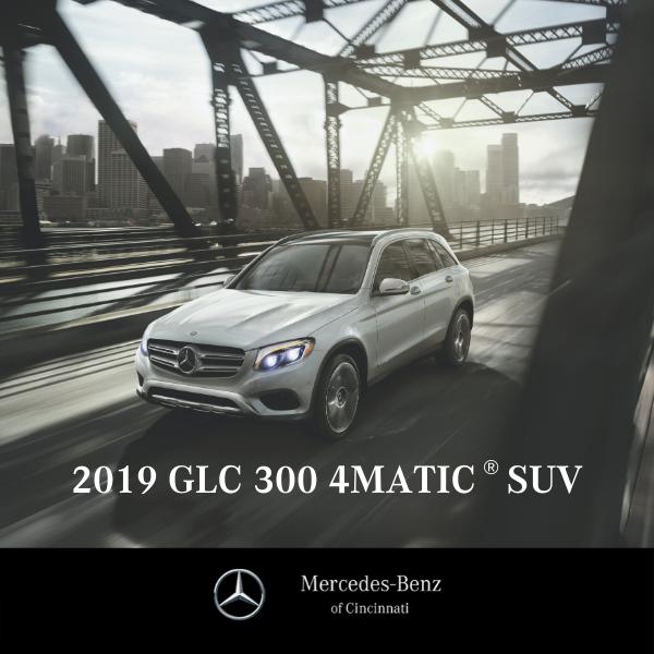Lease a New 2019 GLC 300 4MATIC® SUV