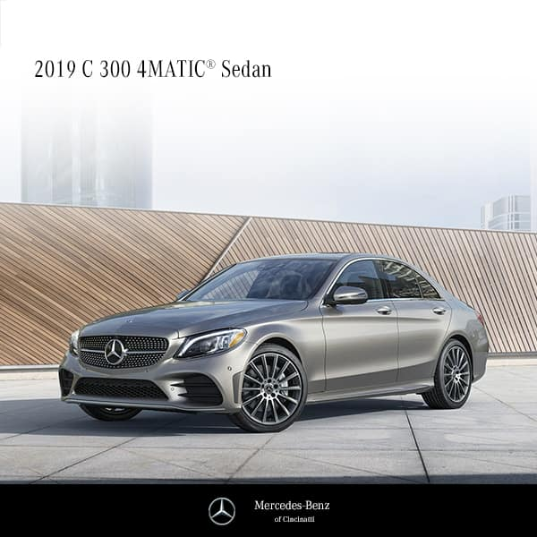 Lease a 2019 C300 4MATIC®