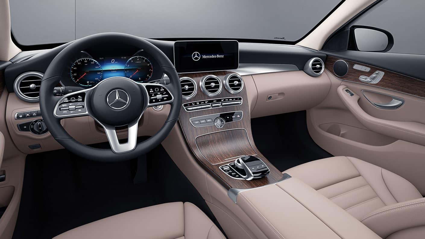 2019 Merced-Benz C-Class Interior