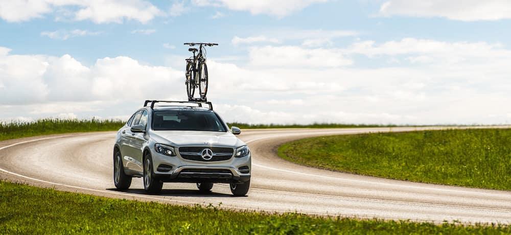Mercedes-Benz with Bike Rack