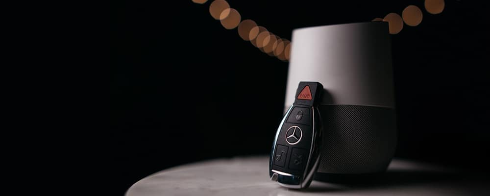 Mercedes-Benz Key Fob leaning against diffuser