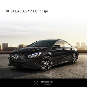Lease a 2019 CLA250 4MATIC® Sedan