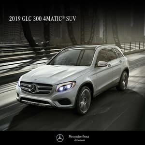 SPOTLIGHT OFFER!  Lease a 2019 GLC300 4MATIC®