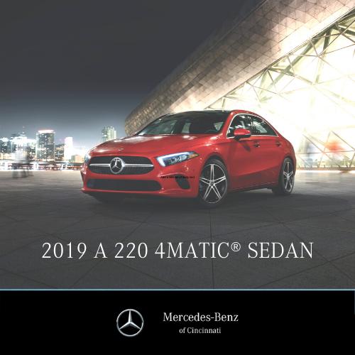 2019 A220 Sedan 4MATIC®