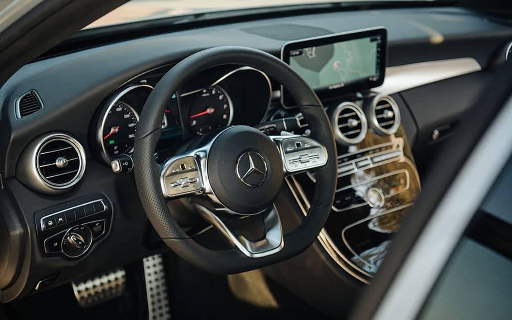 2020 MB C-Class Steering Wheel
