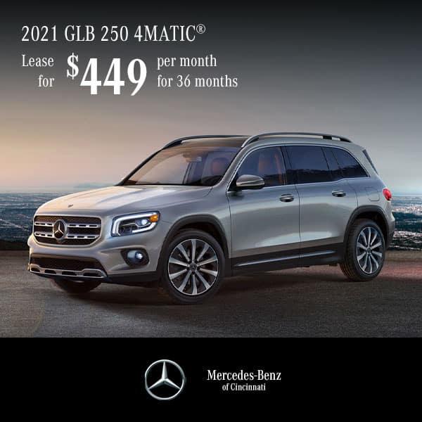 Lease a 2021 Mercedes-Benz GLB 250 4MATIC® SUV