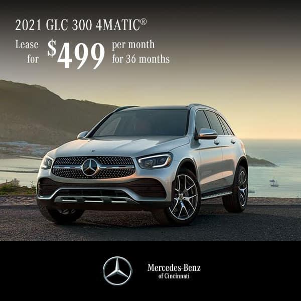 Lease a 2021 GLC 300 4MATIC® SUV