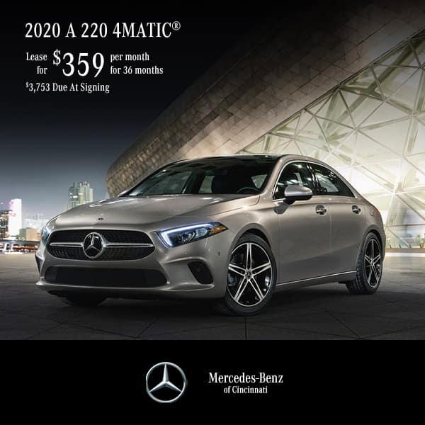 Lease 2020 A 220 Sedan 4MATIC®