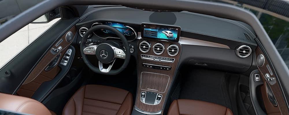 2021 GLC interior