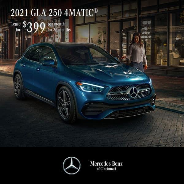 2021 GLA 250 4MATIC® Lease