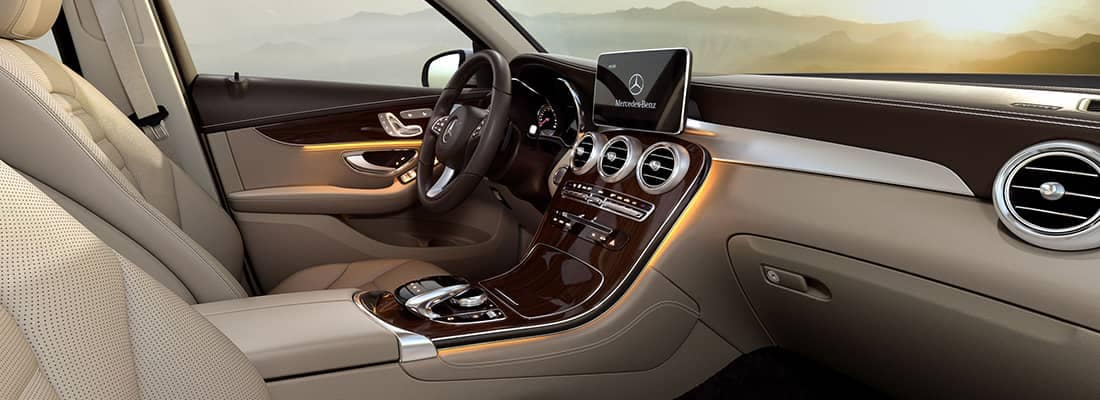 2018 MB GLC Interior