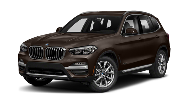 2018 BMW X3 Brown