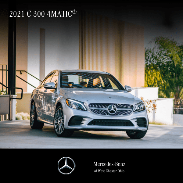 Lease a 2021 C 300 4MATIC® Sedan