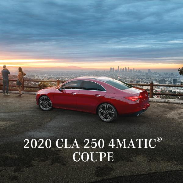 Lease a 2020 CLA 250 4MATIC® Sedan