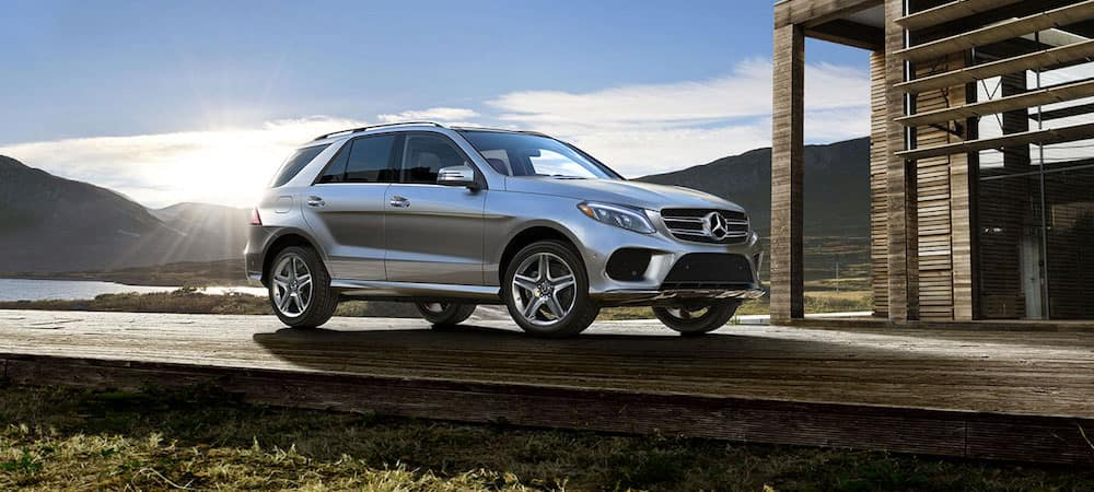2019 Mercedes-Benz GLE in the sun
