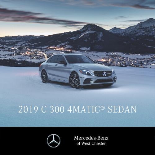 Lease a 2019 C 300 4MATIC® Sedan