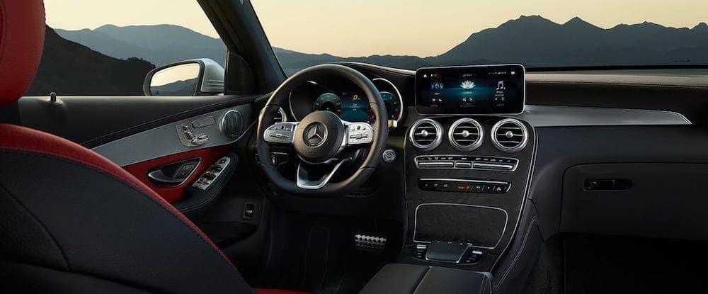 2020 MB GLC Interior