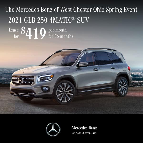 Lease a 2020 Mercedes-Benz GLB 250 4MATIC® SUV