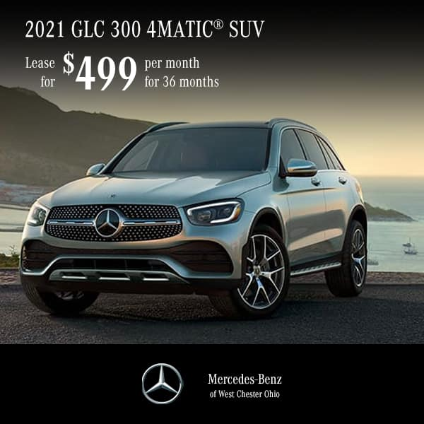 2021 GLC 300 4MATIC® Lease