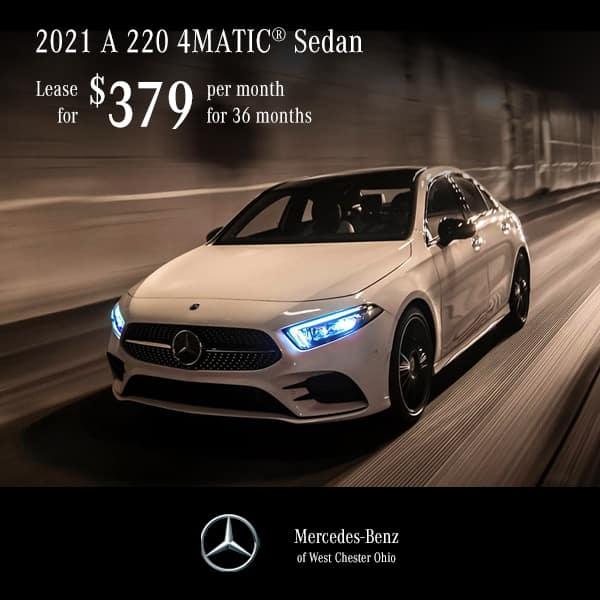 Lease a 2021 A 220 4MATIC® Sedan