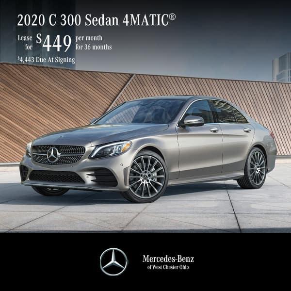 Lease a 2020 C 300 4MATIC® Sedan