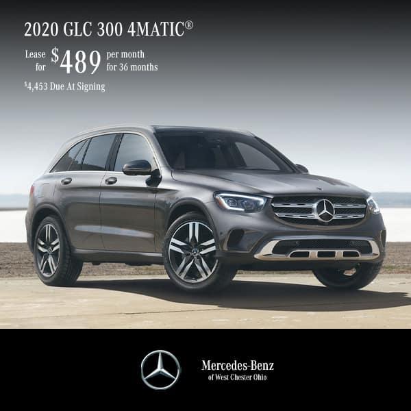 2020 GLC 300 4MATIC® Lease