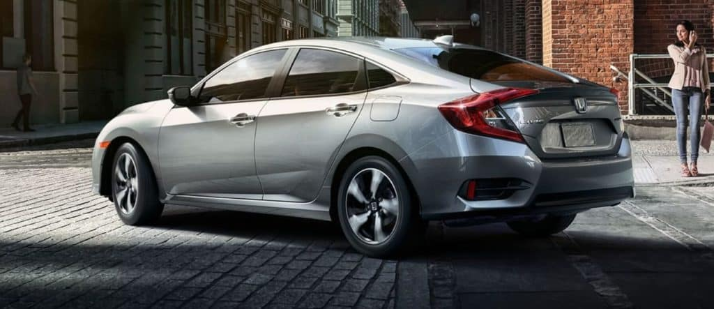 Silver 2018 Honda Civic